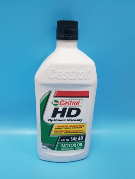 OIL CASTROL HD SAE 40 1 QTS