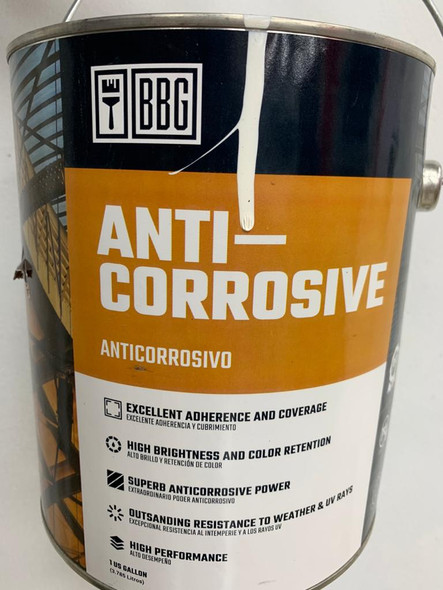 PAINT BBG ANTI CORROSIVE RED 1 GAL