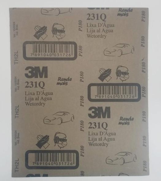 SAND PAPER METAL #180 3M/ALCAR