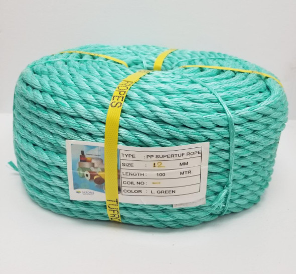 ROPE 12MM TUFROPES 100 MTR ROLL (16LBS)