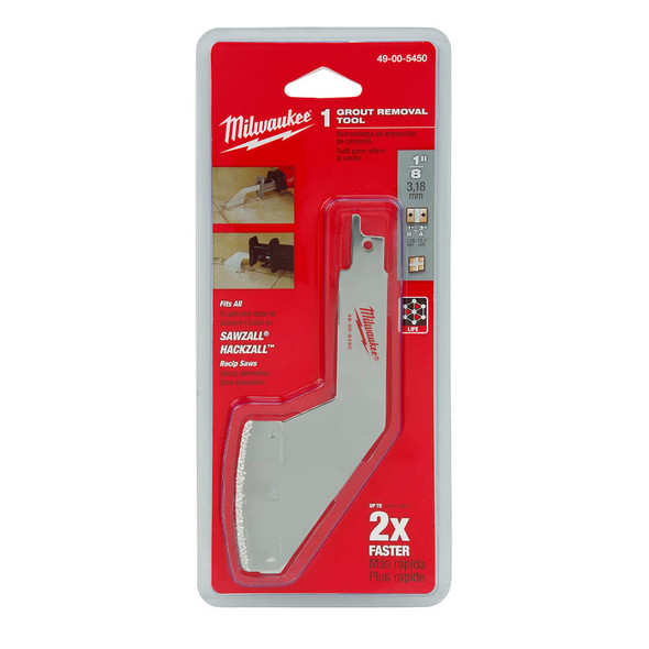 """GROUT REMOVAL TOOL 1/8"""" MILWAUKEE #49-00-5450"""