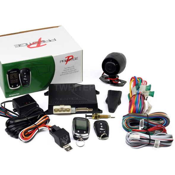 CAR ALARM PRESTIGE APS997E WITH LCD