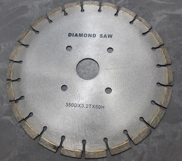 """DISC 14"""" CONCRETE CUTTING DIAMOND SAW 350DX3.2TX50H"""