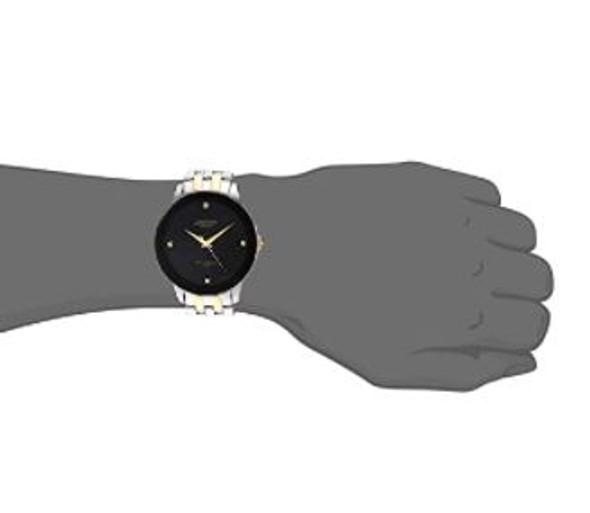 Watch Armitron Men's 20/4952 Diamond Black Dial Bracelet