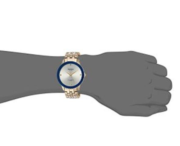 Watch Armitron Men's 20/4952 Diamond Dial Silver Bracelet