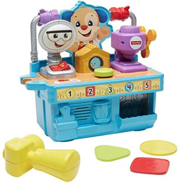 Toy Fisher-Price Busy Learning Tool Bench