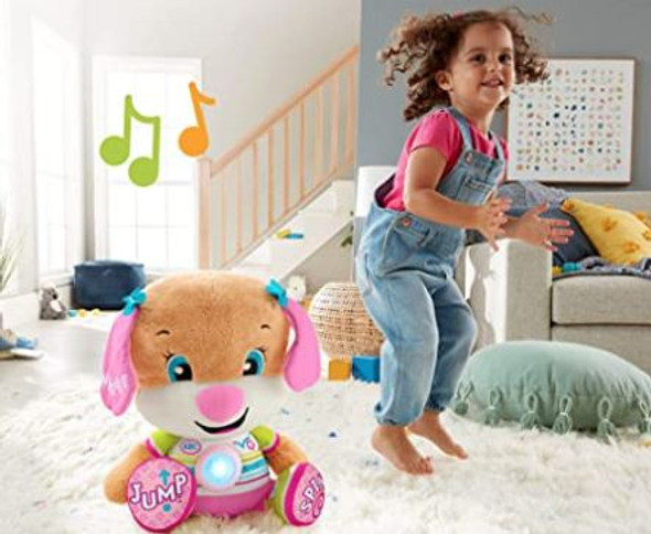 Toy Fisher-Price Laugh & Learn  So Big Sis Large Musical Plush
