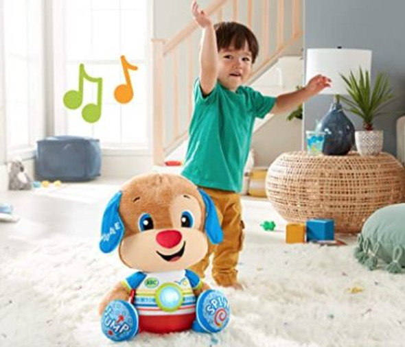 Toy Fisher-Price Laugh & Learn So Big Puppy Large Musical Plush