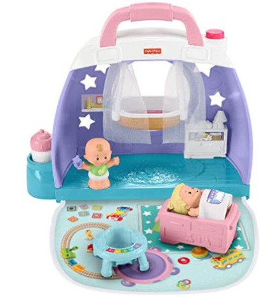 Toy Fisher-Price Little People Cuddle & Play Nursery Play Set