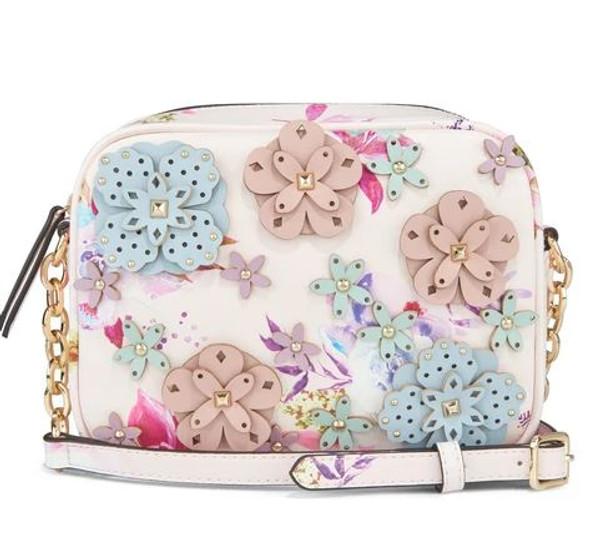 Bag NINE WEST 3D Floral Multi Crossbody