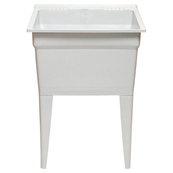 SINK LAUNDRY TECHNOFORM CANADA WHITE WITH LEGS