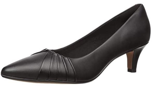 Clarks Women's Linvale Crown Pump Black