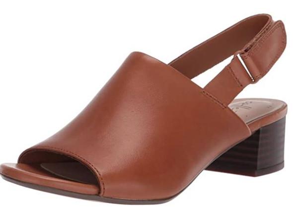 Footwear Clarks Women's Elisa Lyndsey Heeled Sandal