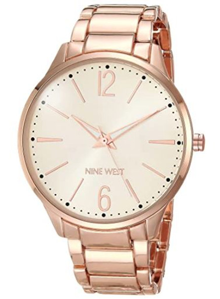 Watch Nine West Women's Bracelet Rose Gold 2568RGRG