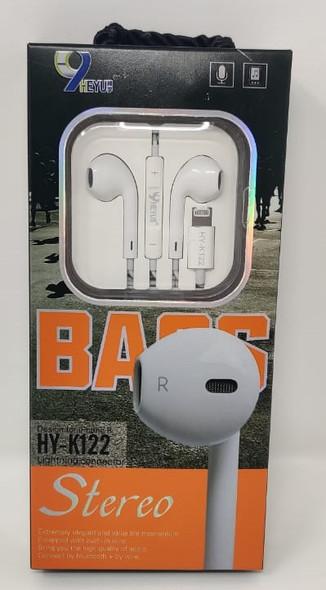 EARPHONE HEYU HY-K122 BASS STEREO IPHONE 8