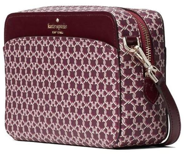 Bag Kate Spade New York Spade Link Camera Pink multi Crossbody