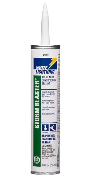 SILICONE WHITE LIGHTNING STORM BLASTER 10 OZ