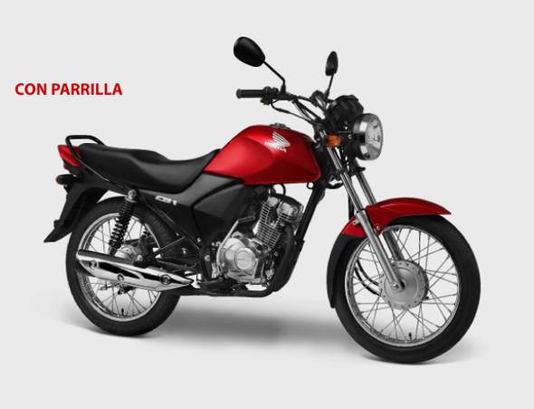 MOTORCYCLE HONDA CB1 125cc BUTTON & KICK START
