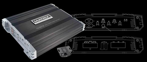 AMP. CAR MATRIX DX1500.2 2CH 1500W