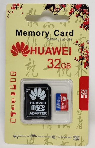 COMPUTER SD MICRO CARD 32GB WITH 1ADPTOR HUAWEI