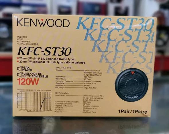 "TWEETER CAR KENWOOD KFCST30 13/16"""