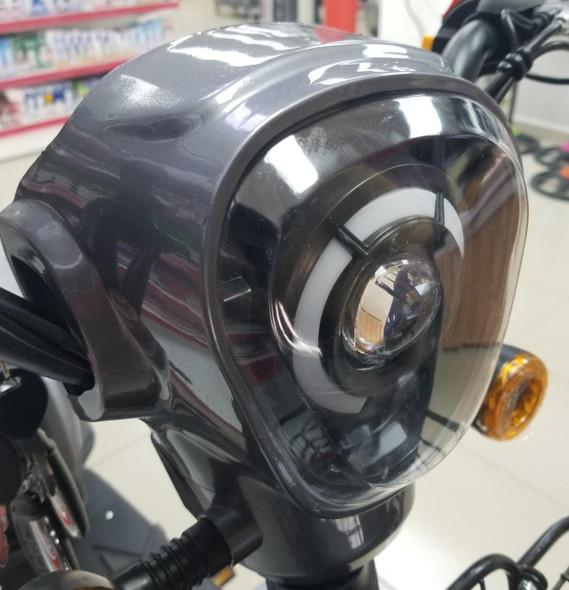 E/BIKE LAMP COVER PLASTIC