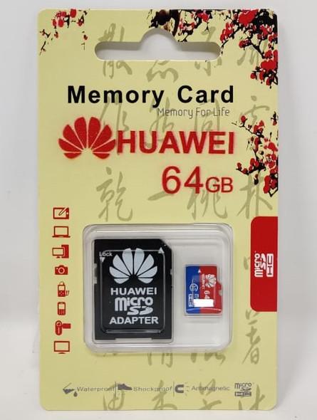 COMPUTER SD MICRO CARD 64GB WITH 1ADPTOR HUAWEI