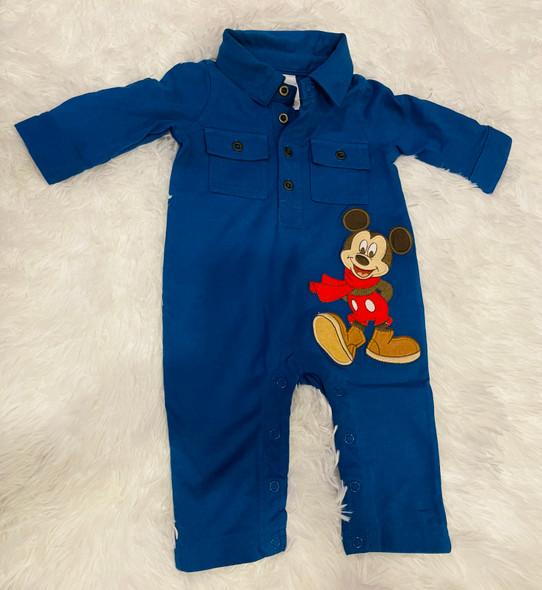 Baby Disney Boys One piece Mickey MouseBlue