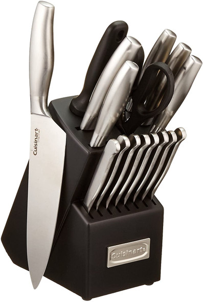 KNIFE SET 17PCS CUISINART C77SS-17P CLASSIC