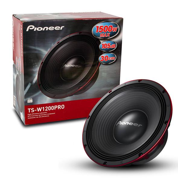 """SPEAKER CAR PIONEER 12"""" TSW1200PRO EACH"""