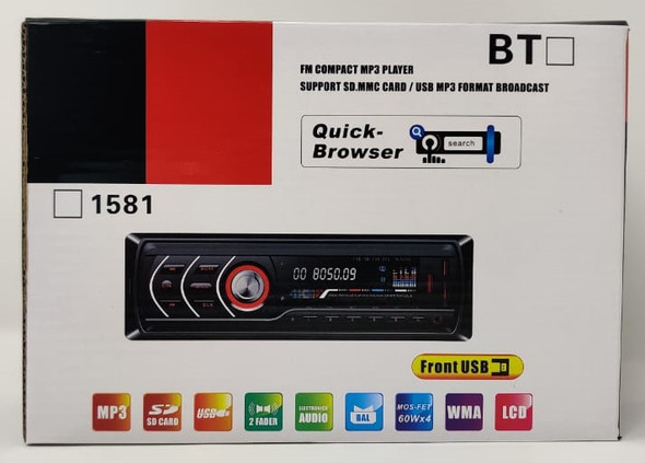 MEDIA PLAYER CAR 1783 1586 FM USB SD MMC