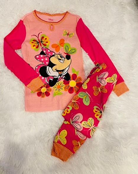 Kids Pj Disney Minnie long sleeve