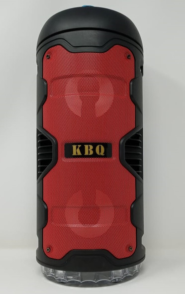 "SPEAKER BOX KBQ 4"" X2 KBQ-209 BT (POWERED) ACTIVE RECHARGEABLE"