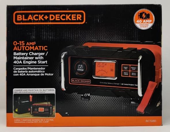 BATTERY CHARGER BLACK + DECKER BC15BD 15AMP 12V