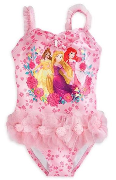 Kids Disney Girls Swimwear Princess 9/10