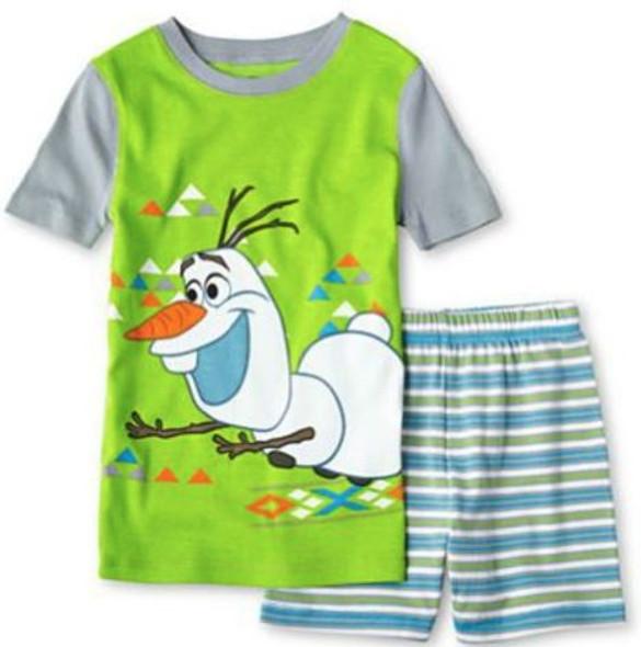 Kids PJ Disney Olaf size 10