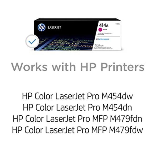 COMPUTER PRINTER TONER HP 414A MAGENTA W2020A
