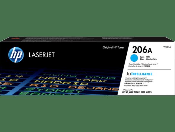 COMPUTER PRINTER TONER HP 206A CYAN W2110A