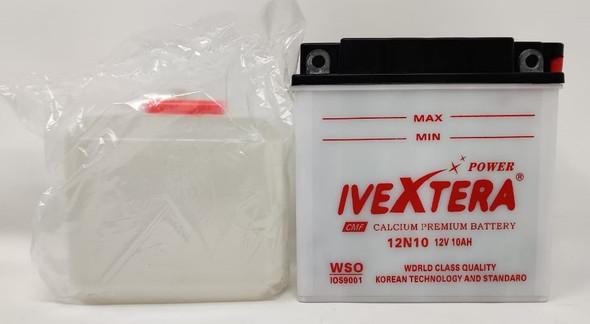 M/CYCLE BATTERY POWER IVEXTERA 12N10AH 12V 10A