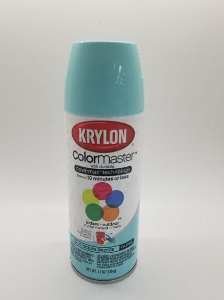 KRYLON COLORMASTER GLOSS BLUE OCEAN BREEZE 51512 12OZ