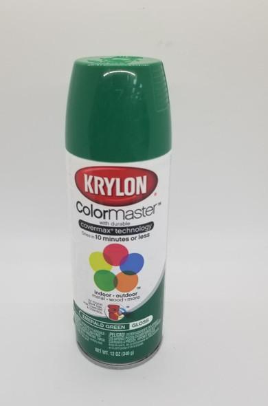 KRYLON COLORMASTER GLOSS EMERALD GREEN 52016 12OZ