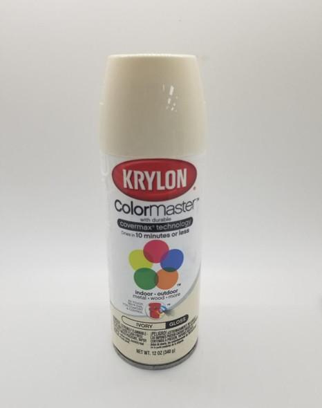 KRYLON COLORMASTER GLOSS IVORY 51504 12OZ