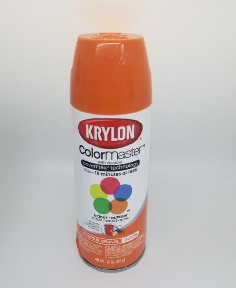 KRYLON COLORMASTER GLOSS PUMPKIN ORANGE 52411 12OZ