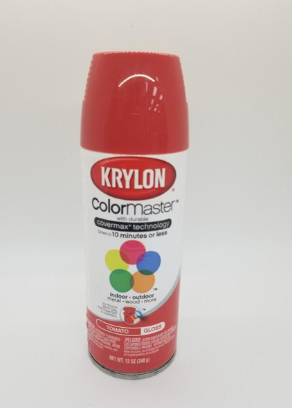 KRYLON COLORMASTER GLOSS TOMATO 53532 12OZ