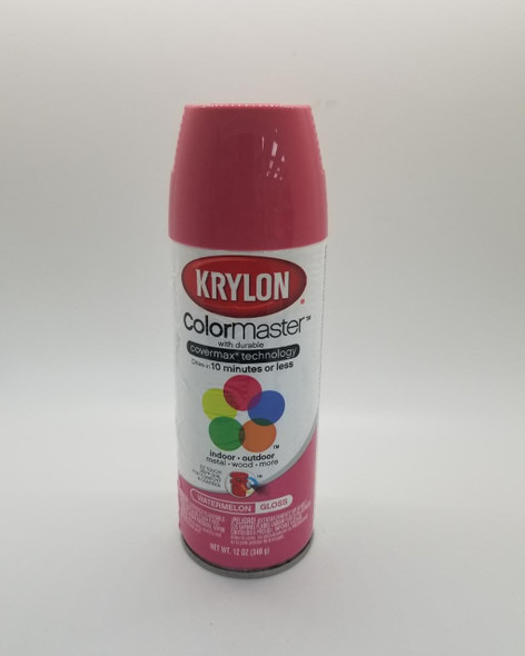 KRYLON COLORMASTER GLOSS WATERMELON 53533 12OZ