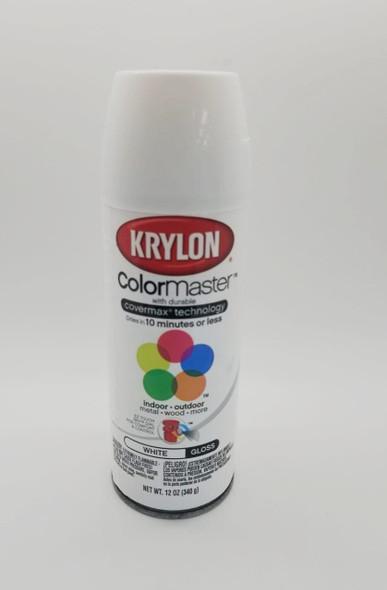 KRYLON COLORMASTER GLOSS WHITE 51501 12OZ