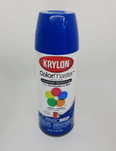 KRYLON COLORMASTER TRUE BLUE 51910 12OZ