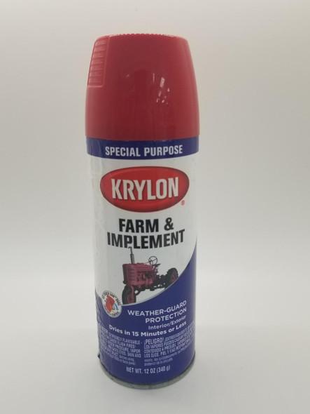 KRYLON FARM WEATHER GUARD MASSY FERGUSON RED 1822 12OZ