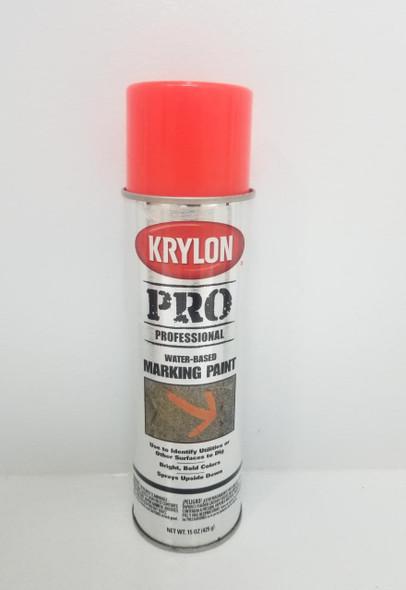 KRYLON PRO MARKING PAINT FL RED 7324 15OZ