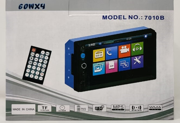 MEDIA PLAYER CAR WITH SCREEN 7010B 60WX4 NO DISC